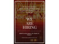 Full Time Kitchen Staff Wanted!