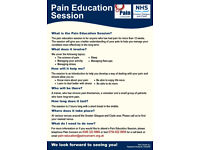 Pain Education Classes in Greater Glasgow and Clyde -Pain Concern