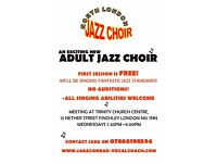 New Jazz Choir for Singers of all abilities - FREE first taster session !