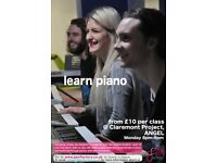 piano/keyboard lessons - 3 classes for £30 - complete beginners welcome - fun group learning