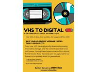VHS to Digital Conversion Service