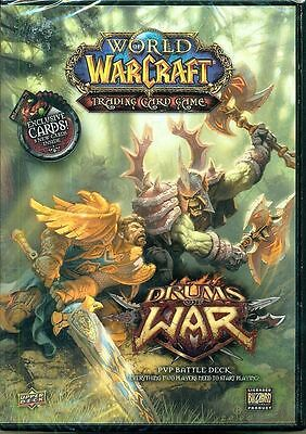 World of Warcraft Drums of War Trading Card Game BRAND NEW in Sealed Package WoW
