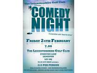 The Leicestershire golf club comedy night