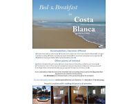 Bed and Breakfast in Alicante, Spain