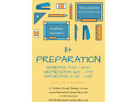 11+ prep Tutor - Small classes, with experienced profesional teachers!