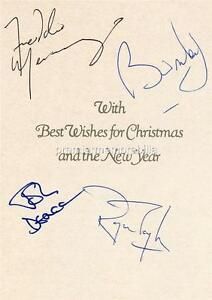 QUEEN-FREDDIE-MERCURY-BRIAN-MAY-ROGER-TAYLOR-DEACON-SIGNED-PRINTED-XMAS-PRINT