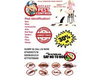 100% Guaranteed Pest Control (Mice, Rat, Cockroach, Bedbugs, Wasps, Spiders, Ants, Fleas, Termites )