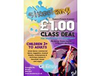 Amazing dance classes for ages 3+ & up with dedicated, passionate & experienced instructors!