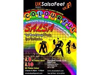 Wolverhampton Colourful Salsa Party