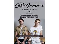 Belsonic Chainsmokers Ticket
