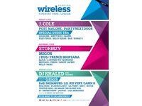 Wireless festival weekend tickets (3x) J.cole, Stormzy, Dj Khaled, Migos & more!