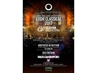 Lush Classical - 7 October 2017 - 2 x Standing