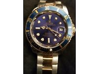 ×× NEW ×× Blue Face Automatic Rolex Submariner £45