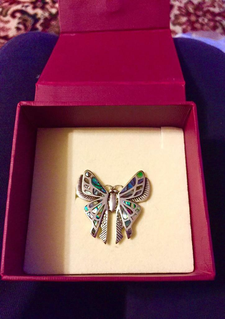Past Times pretty Butterfly Brooch