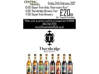 Thornbridge Brewery Trip! *Gift Experience*