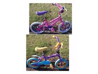 "12 "" Bike - Winnie the Pooh or Disney Princess"