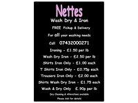 Nettes Washing Ironing & Drycleaning Service