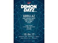 1x Demon Dayz Ticket