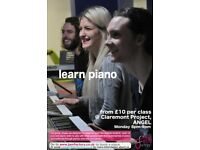 group piano/keyboard lessons - 3 classes for £20 - beginner and intermediate