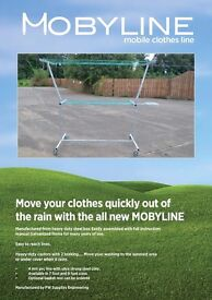 MOBYLINE mobile clothes line.....every home should have one !
