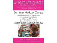 Amber's Summer Holiday Art Camp Classes - Oxford - AMBERSARTCLASSES . COM