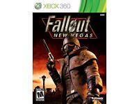 Fallout New Vegas for Xbox 360 and Xbox One and Xbox One S- Like NEW condition. ( AMAZING GAME ).
