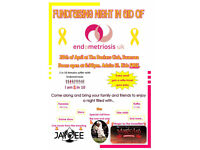 Family Friendly Charity Night In Aid Of Endometriosis