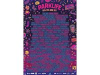 Weekend VIP Parklife Ticket and Travel Pass for sale