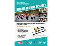 Back To Netball - Training Course Starting Soon