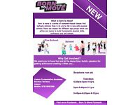 Born to Move Fitness classes. from 2years -16 years. bring a life long passion to movement