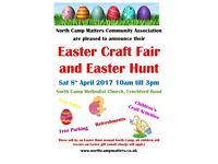NCMCA Easter Craft Fair and Easter Hunt - 8th April