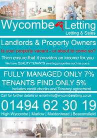 Landlords & Homeowner: We require properties in Beaconsfield