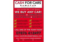 CARS/VANS BROUGHT FOR CASH***POOLE & SURROUNDING AREA***FRIENDLY RELIABLE SERVICE***TOP PRICES