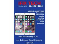 iPhone screen Repairs east-end Glasgow. samsung,Nokia,htc & sony Damaged Smashed Broken Lcd Screen,