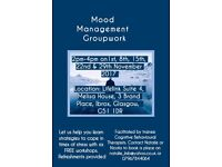 Mood Management Workshops November-December 2017- FREE