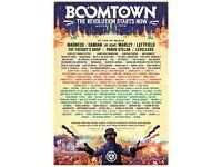 Boomtown Fair Festival Weekend Ticket x1