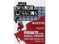 Las Spanish Lessons. Native, experienced teacher.