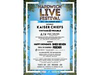 X2 hardwick live tickets £40