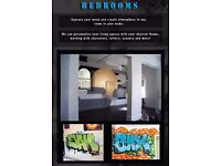 PROFESSIONAL MURAL ARTIST - GRAFFITI - SIGN WRITING AND MORE.