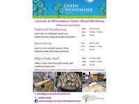 Green Woodwork Workshops, Minnowburn, Belfast.