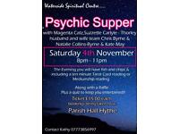 Psychic supper. Hythe