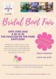 Bridal Boot Fair / Wedding / Pre-loved