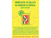 Italian lessons this summer with experienced and qualified tutor