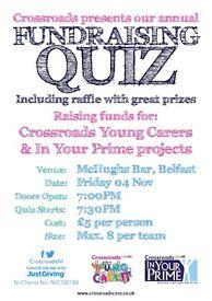 Fundraising Pub Quiz - McHughs Bar, Queens Square, Belfast