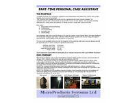 Part Time Personal Care Assistant