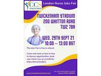 London Nurse Jobs Fair