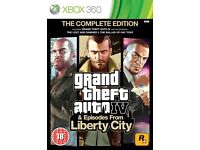 Grand Theft Auto IV: Complete Edition Xbox One / Xbox 360 (Mint Condition)