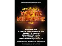 Markiplier You're Welcome Tour VIP 2 Tickets