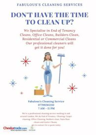 Specialist in End of Tenency cleaning