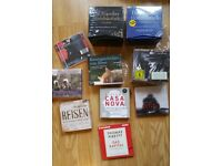A collection of German audiobooks and cd's